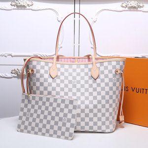 Louis Vuitton Neverfull MM Damier Azure Bag